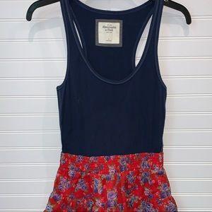 NWOT Abercrombie & Fitch tank dress L